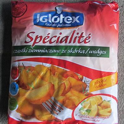 Замороженные картофельные дольки Iglotex