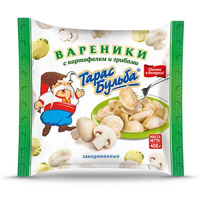Вареники «Тарас Бульба» с картофелем и грибами